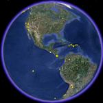 Mapa de Últimos Terremotos en el Mundo – Hace 24 Horas