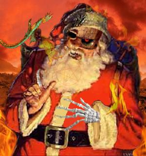 El Demonio Claus-Tro……Satán Clauss