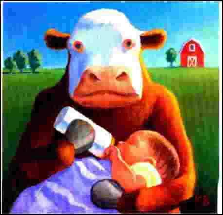 Efectos Adversos de la Leche de Vaca
