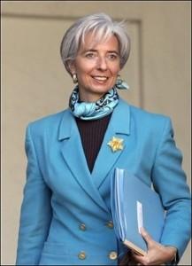 Cristina Lagarde, Directora del FMI