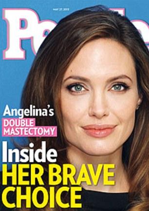 Reacción en Contra de Angelina Jolie Aumenta por Doble Mastectomías al Alcance de la Élite Solamente