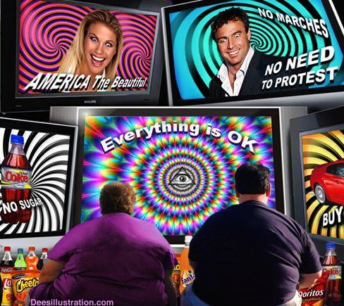 La Television Utilizada por los Judíos para Degenerar a los Gentiles