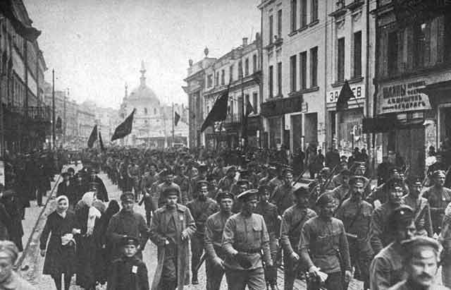 El Golpe En Febrero De 1917