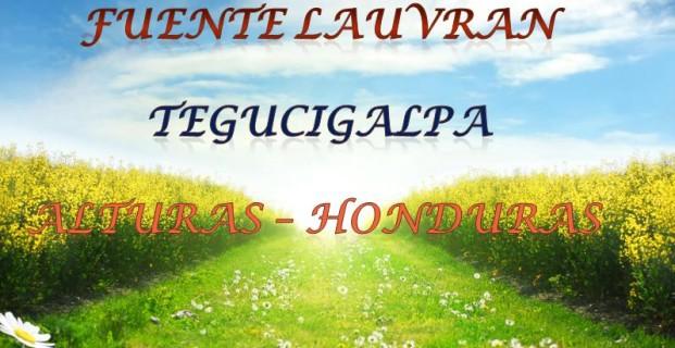Fuente LAUVRAN – Tegucigalpa