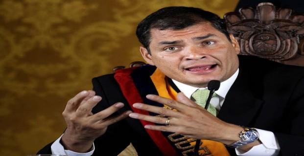 Presidente Correa de Ecuador rechaza ideología de Género