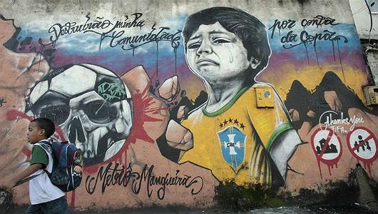 mural brasil no futbol  2  @ Tao Tv