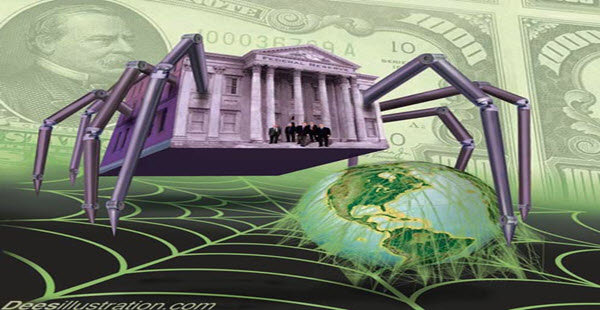 Caos en Estados Unidos ante bancarrota de la Reserva Federal