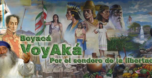 Boyaca , Voy -Aka  por el sendero de la libertad