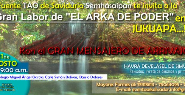 Ven al Arka de Poder en Jucuapa, El Salvador