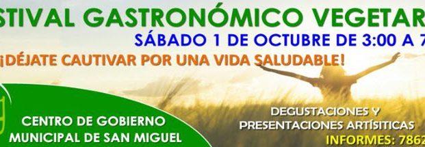 Primer Festival Gastronomico Vegetariano VIVEG – San Miguel, El Salvador