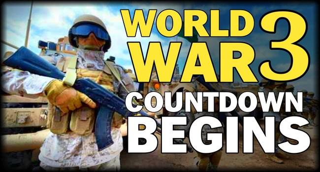 Cuenta Regresiva para III Guerra Mundial ha comenzado