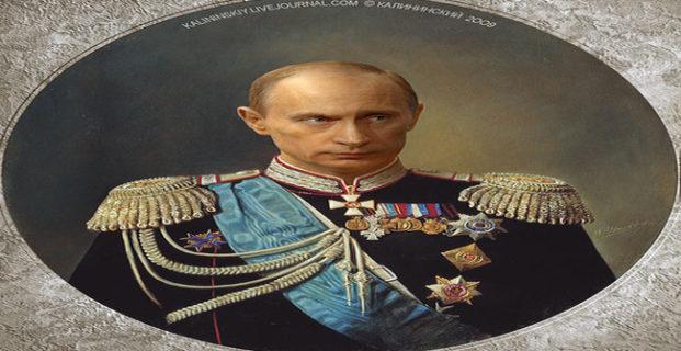Comienzan acciones para convertir a Putin en Zar Real