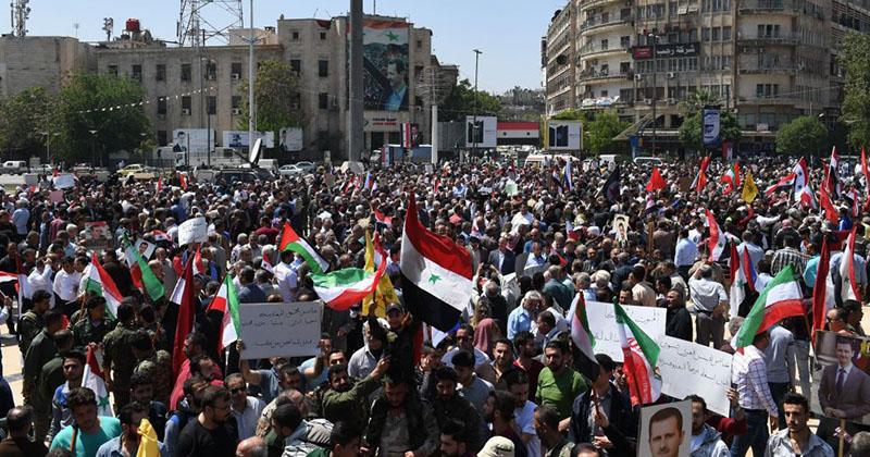 El mundo celebra humillación de Estados Unidos en Siria