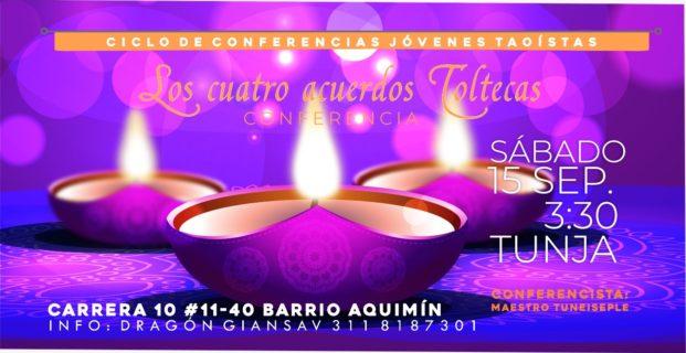 Ciclo  de Conferencias Jovenes Taoistas Los Cuatro acuerdos Toltecas