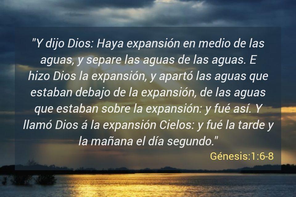 EL Libro  DE Gènesis de Moizeus Dìa Segundo